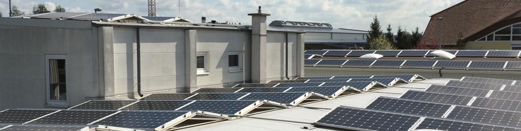 Solardach in Hoppegarten